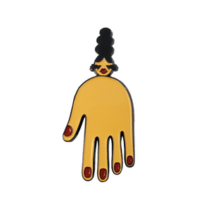 the big hand pin Imp Queen Merch Europe UK