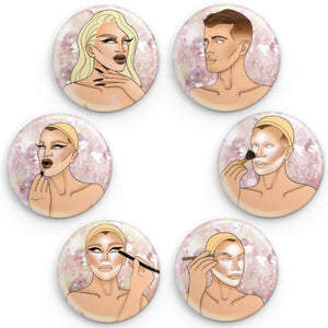 Becoming Pearl: a Button Set Pearl Merch Europe UK