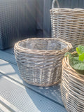 Willow Planters, 3 Sizes, Now Reduced