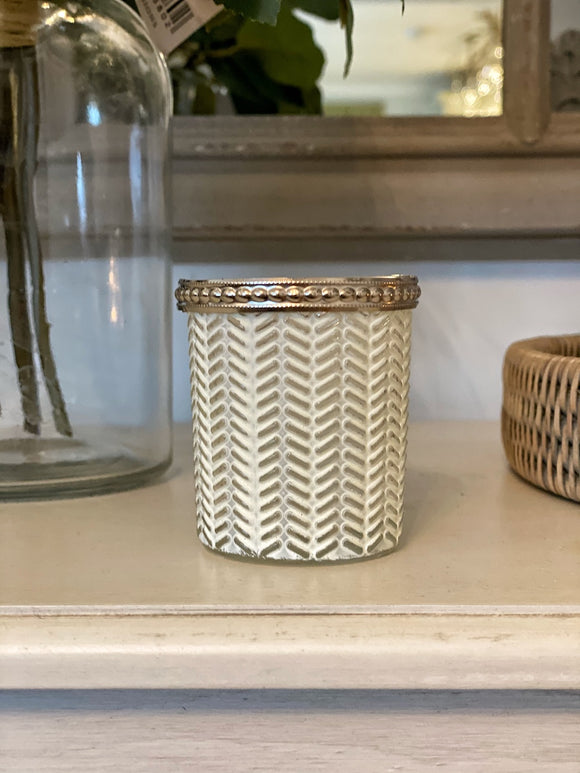 Evie Zig Zag Tea-Light Holder
