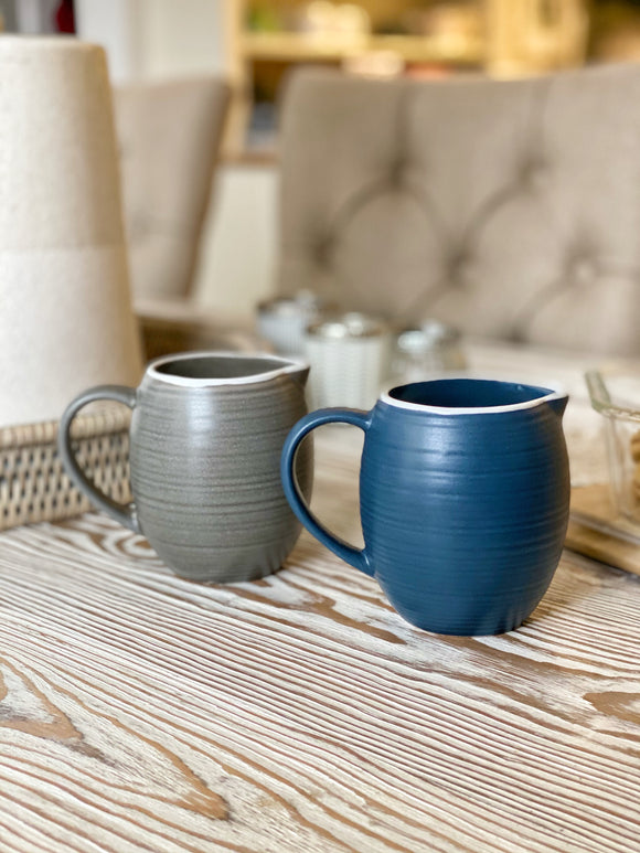 Stoneware Jug - Choice of 2 Colours