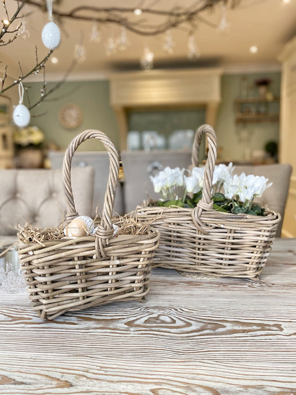Handled Baskets - 2 Sizes to choose from.