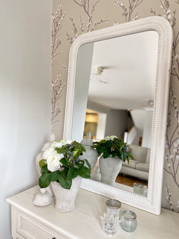 Curved Antique Mirror