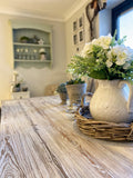 Rustic Pine Dining Table - Please Message for a Delivery Quote before purchase