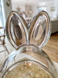Rabbit Ears Glass Jar