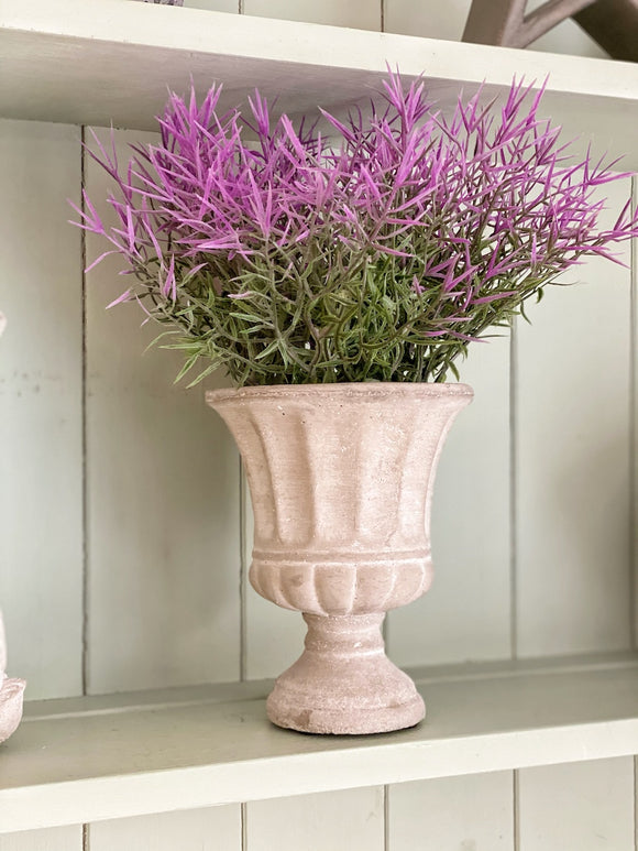 Potted Lilac Urn