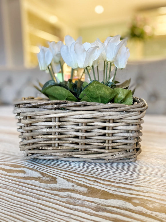 Oblong Small Storage Basket
