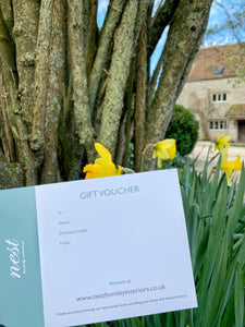 Nest Homely Interiors Gift Voucher