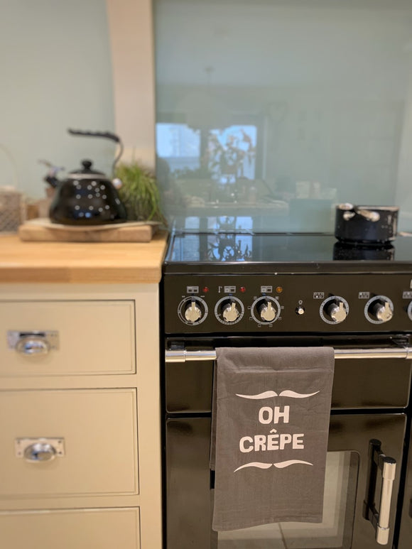 ' Oh Crepe ' Tea Towel