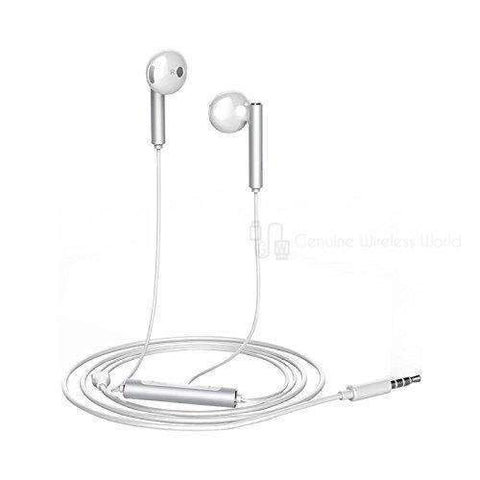 Huawei AM116 Silver White Headphones with mic