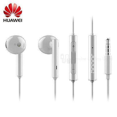 Huawei AM115 Earphones with Mic. - Volume control - White Bulk