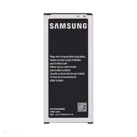 Samsung Galaxy Alpha Battery EB-BG850BBE (Non-Retail Packaging) Bulk