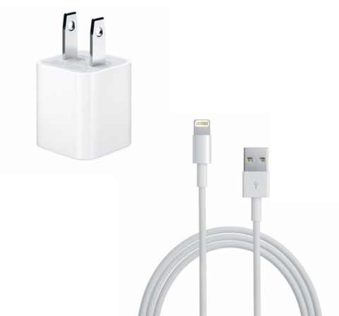 Apple iPhone charger 5W + USB Lightning Charging cable