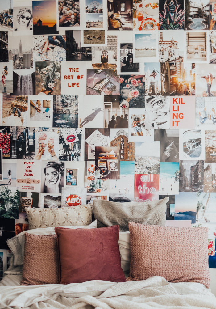 Anime Photo Wall Collage Bedroom