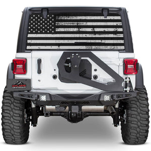 Truck Rear Window Flag Decals Installation (3 min)