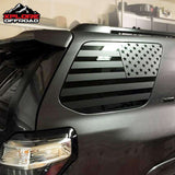 Toyota 4Runner | Precut USA Flag Window Decals | 2010-2019 - XPLORE OFFROAD®