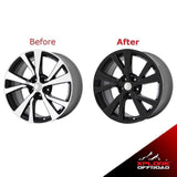 "Maxima 18"" Alloy Wheels Blackout Wrap KIt l Chrome Delete Vinyl 