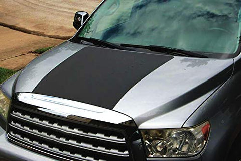 XPLORE OFFROADⓇ - Tundra Hood Blackout Vinyl Decal | 2014-2019 | Matte Black