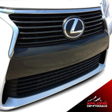 GS350 Front Bumper Fascia Blackout Vinyl Decal | Matte Black | 2013-2015