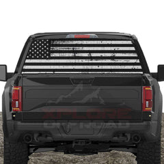 American Flag Rear Window Decals for Trucks & SUV's - XPLORE OFFROAD®