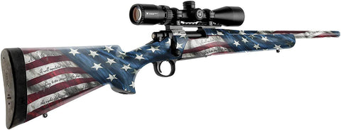 American Flag Wrap for Rifles | Precut Vinyl Decal Kit