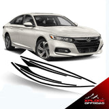 Honda Accord | Chrome Delete Kit | Black Auto Vinyl | 2018 - 2019