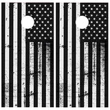XPLORE OFFROAD - Cornhole Board Skin Wrap Decal - American Flag Distressed Design