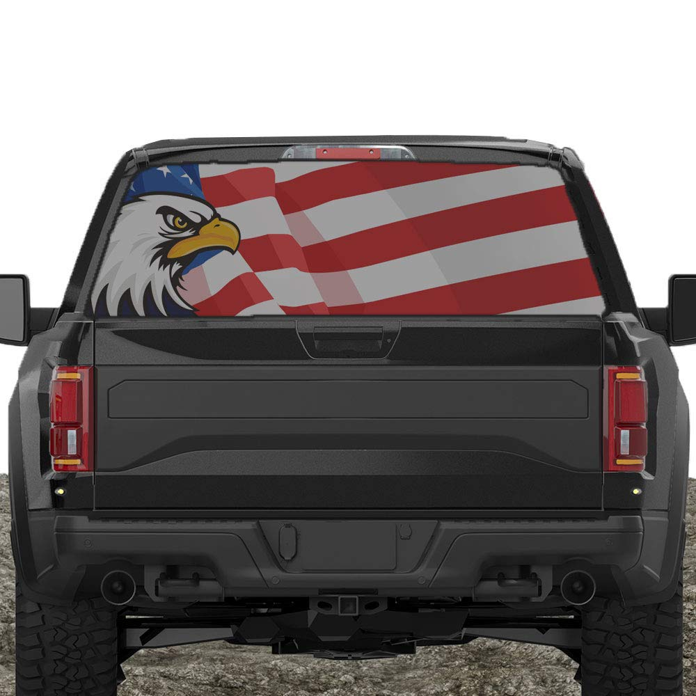 American Flag Rear Window Decals For Trucks Amp Suv S