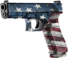 American Flag Wrap for Handguns & Pistols | Precut Vinyl Decals