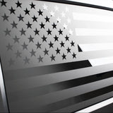 Jeep Wrangler | Precut American Flag Window Decals