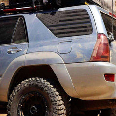 Toyota 4Runner | Precut USA Flag Window Decals | 2003 - 2009 - XPLORE OFFROAD®