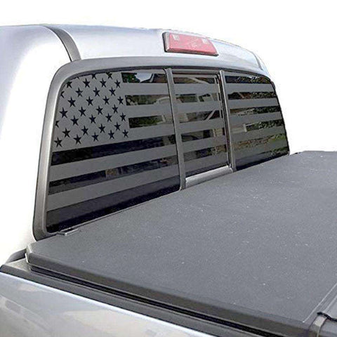American Flag Rear Window Decals for Trucks & Suv's