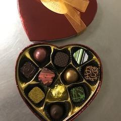 Valentine's Day 11 Piece Heart Shaped Box