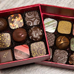 Gift Wrapped Box of 18 Truffles