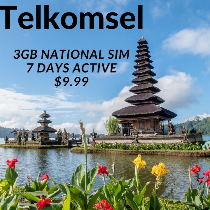 Telkomsel 3gb data sim 7 Days active