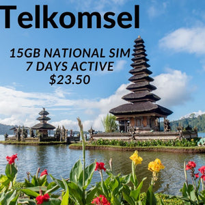 Telkomsel 15gb data sim 7 Days active