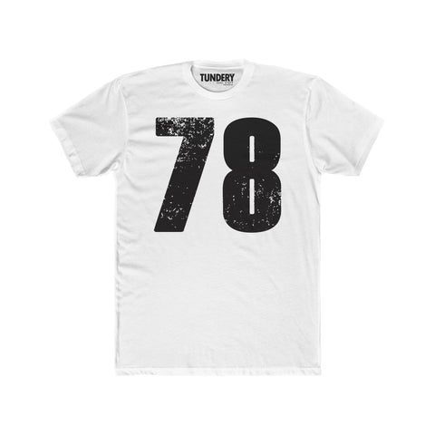 78 - Men's Premium Fitted Short-Sleeve Crew Neck T-Shirt