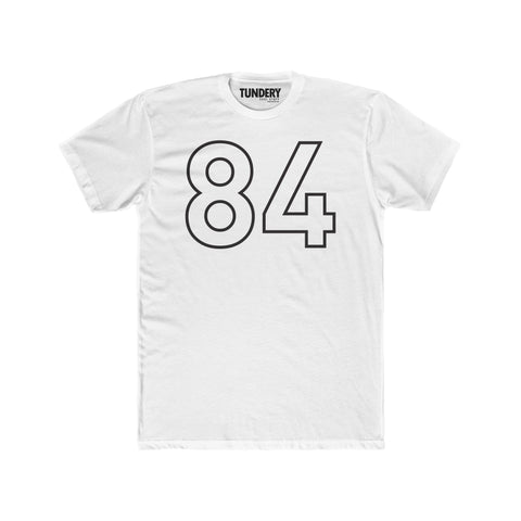 84 - Men's Premium Fitted Short-Sleeve Crew Neck T-Shirt