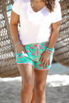 Tiki Hut Flamingo Drawstring Everyday Shorts-PREORDER ends 5/6, ETA 2nd week of June