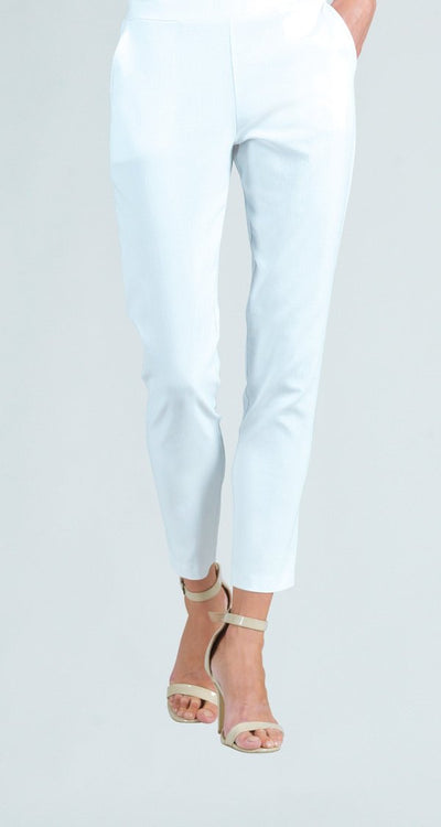Clara Sun Woo Ankle Length Pocketed Techno Fabric Pant PT7