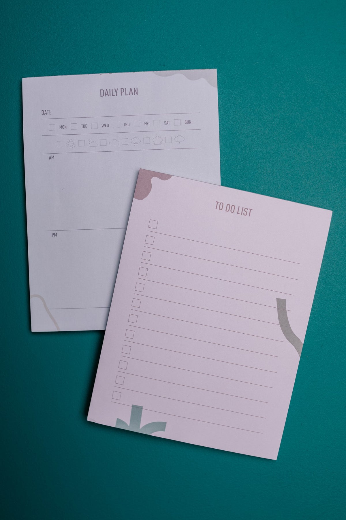 The New Me Gets Things Done Planner Pad