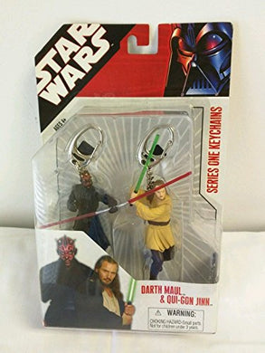 Star Wars Keychains Darth Maul & Oui-Gon Jinn