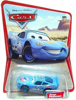 Disney Pixar Cars Original Series 1 - Dinoco Lightning McQueen Vehicle