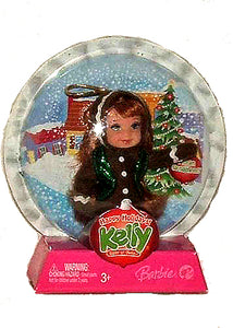 "Barbie Kelly - Holiday Ornament Miranda 4.5"" Ginger Bread Doll"
