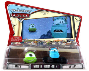 Disney Pixar Cars Movie Moments - Mike & Sulley Vehicle Set