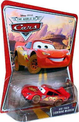 Disney Pixar World of Cars - Dirt Track McQueen Vehicle
