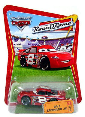 Disney Pixar World of Cars - Race O Rama Dale Earnhardt Jr. (Piston Cup Ticket #23)