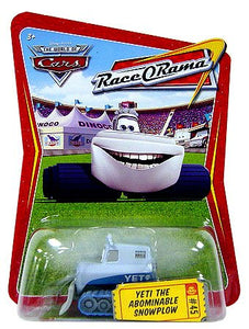Disney Pixar World of Cars - Race O Rama Yeti The Abominable Snowplow