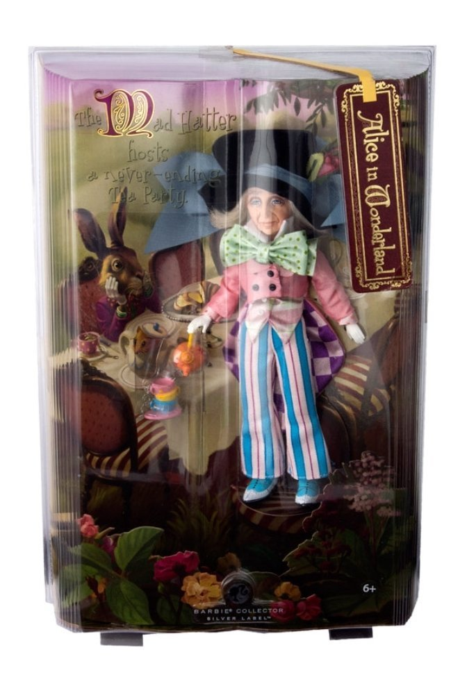 Barbie Silver Label Collection Alice in Wonderland - Mad Hatter Doll