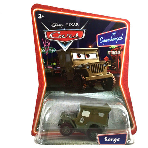 Disney Pixar Cars Supercharged - Sarge Vehicle